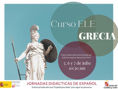 Jornadas Didácticas de Español. GRECIA