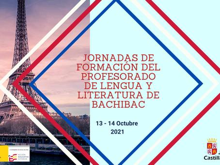 JORNADAS DE FORMACIÓN DEL PROFESORADODE LENGUA Y LITERATURA DE BACHIBAC. FRANCIA
