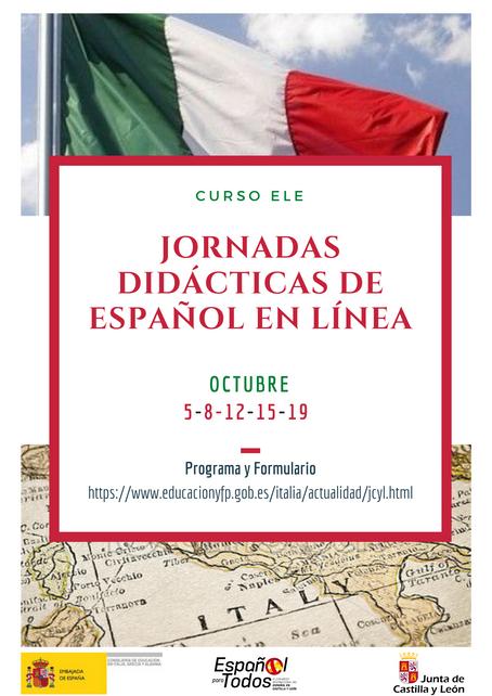 Jornadas Didácticas de Español ITALIA
