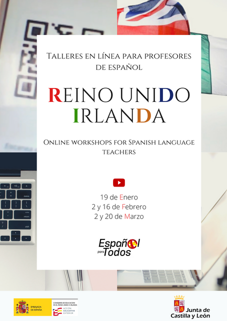 Talleres en línea para profesores de español / Online workshops for Spanish language teachers