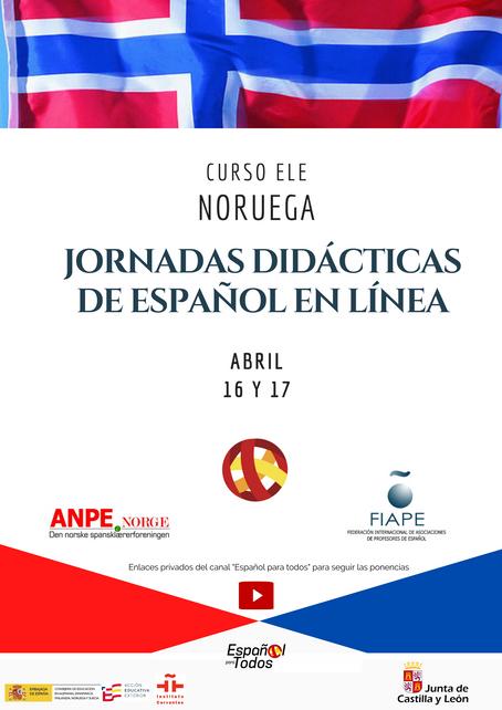 Jornadas Didácticas de Español en NORUEGA