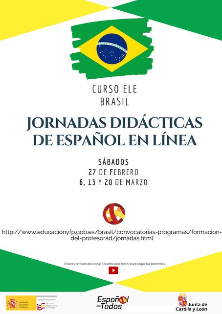 BRASIL. Jornadas didácticas de español