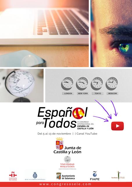 VI CONGRESO INTERNACIONAL DEL ESPAÑOL EN CASTILLA Y LEÓN