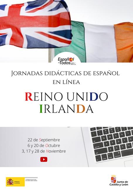 Jornadas didácticas de español en línea. REINO UNIDO e IRLANDA
