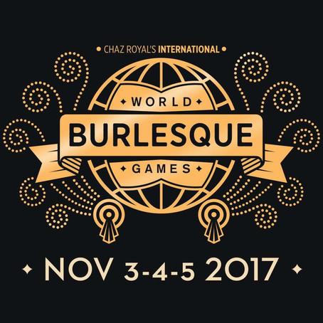 World Burlesque Games 2017 - London