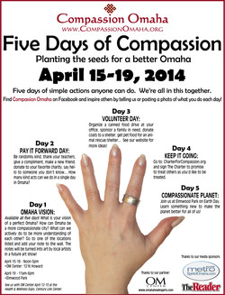 FIVE DAYS OF COMPASSION 2014
