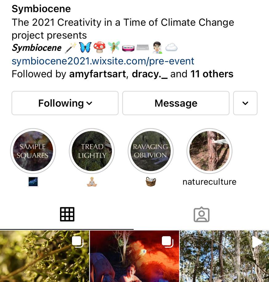 Symbiocene instagram