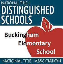 Buckingham Elmentary Title 1 Distinguished School