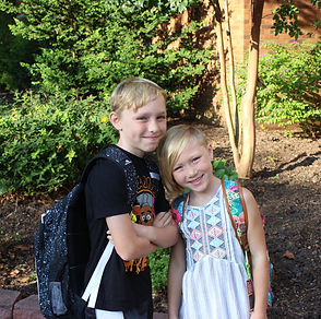 BES Students First Day