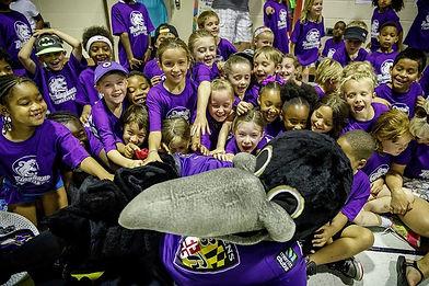 Buckingham Elementary Ravens Visit