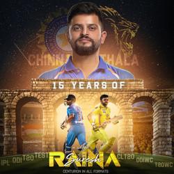 Official Raina 15 year Design