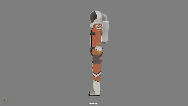 Astronaut Turnaround
