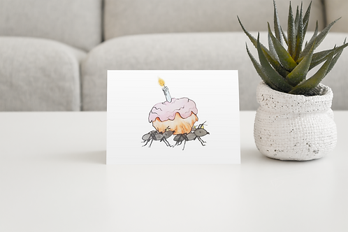 Birthday Ant Greeting Card
