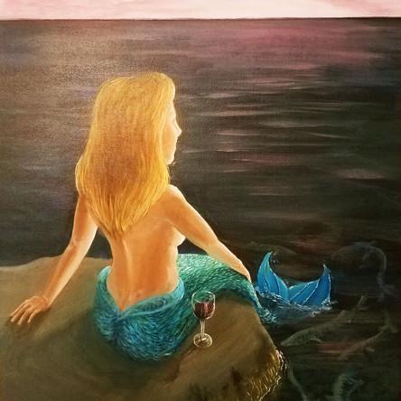 Mermaid Sunset