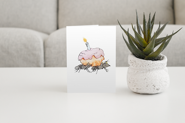 mockup-of-a-greeting-card-placed-on-a-ce