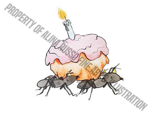 Birthday Ant Card Printable