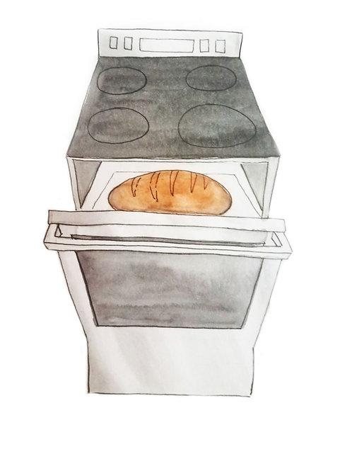 Bun in the Oven!
