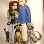 Matty and Patrick Family Portrait