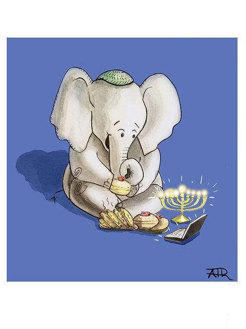 Hanukkah Card 2020