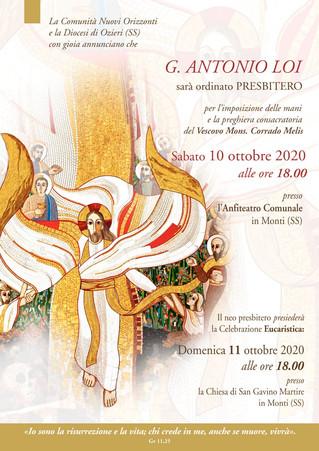 Ordinazione Presbiterale don Giovanni Antonio Loi