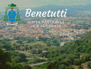 Programma della visita Pastorale a Benetutti dal 2 - 9 febbraio