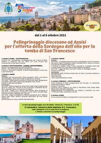 Pellegrinaggio diocesano ad Assisi - dal 1 al 6 ottobre 2021