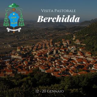 Programma della visita Pastorale a Berchidda dal 12 - 20 Gennaio