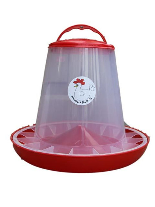 1kg Chick Feeder in red or green