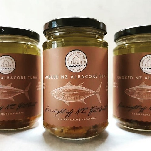 SMOKED ALBACORE TUNA 300ML