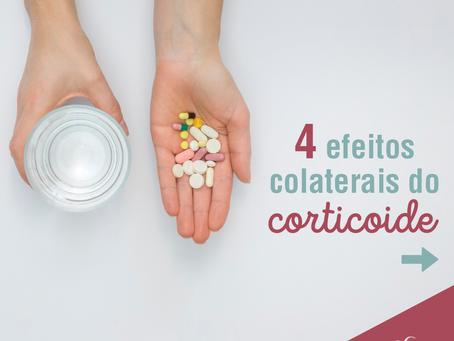 4 efeitos colaterais do corticoide