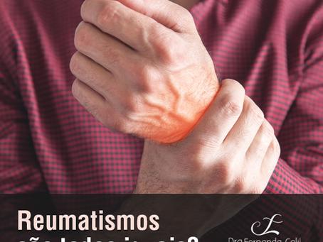 Reumatismos são todos iguais?