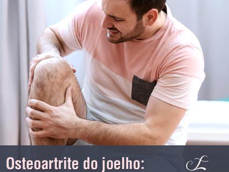 Osteoartrite do joelho: atividades simples que se tornam difíceis