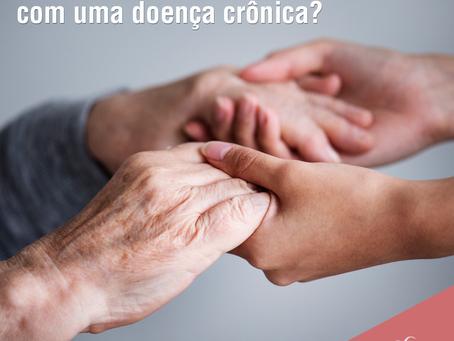 É possível ajudar alguém com uma doença crônica?