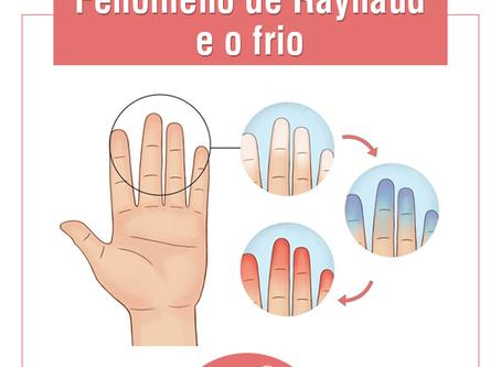 Fenômeno de Raynaud e o frio