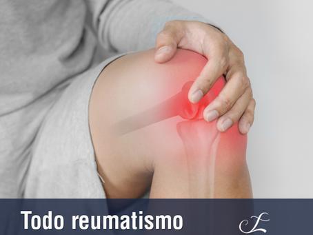 Todo reumatismo tem dor?