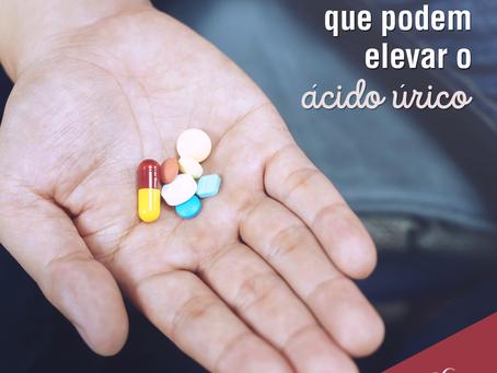 Medicamentos que podem elevar o ácido úrico