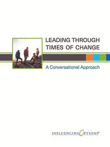 Leading Through Times of Change
