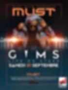 Affiche Maitre GIMS le Must Montelimar.j