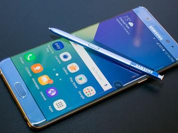 Samsung suspende las ventas del Galaxy Note 7