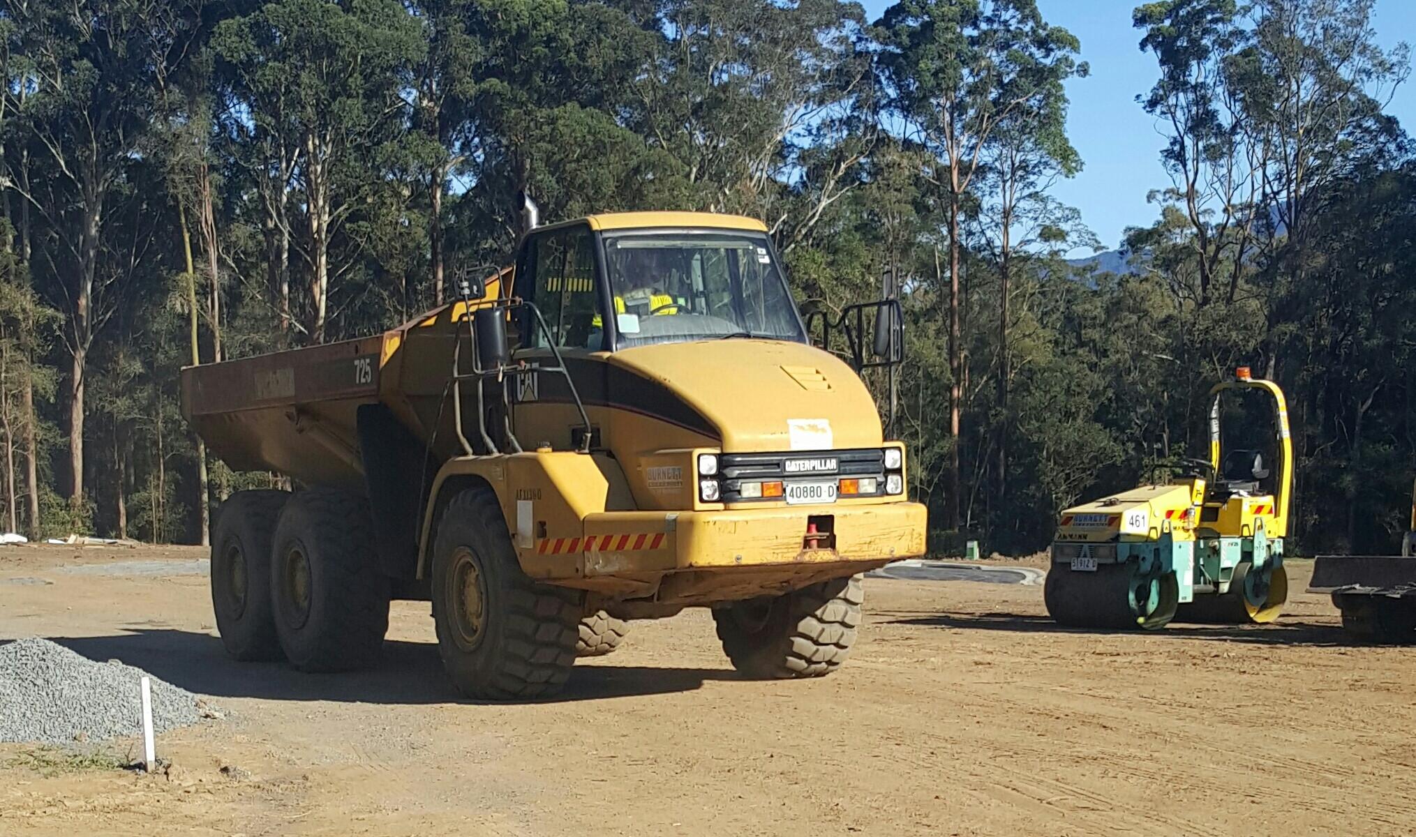 Articulated Haul Truck