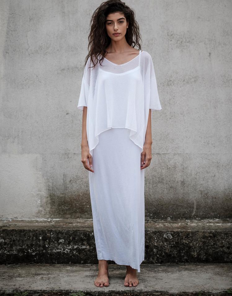S1913 - v neck poncho S1956 - long dress
