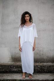 S1913 - v neck poncho  S1956 - long dress