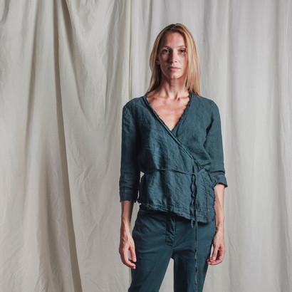 PE9146 - blouse  PE9122 - pants