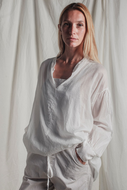 PE9127 - blouse  PE9124 - overalls
