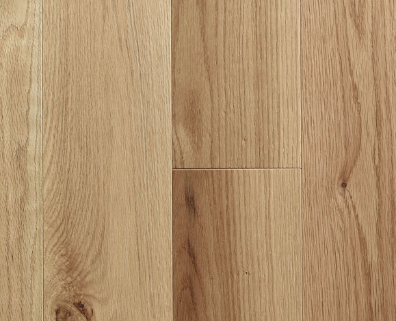 Red Oak Natural Wirebrushed