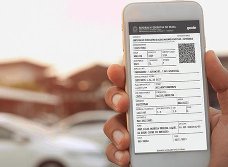 Motoristas já podem emitir licenciamento em casa