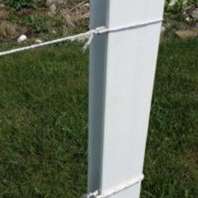 Rigid PVC H-Posts