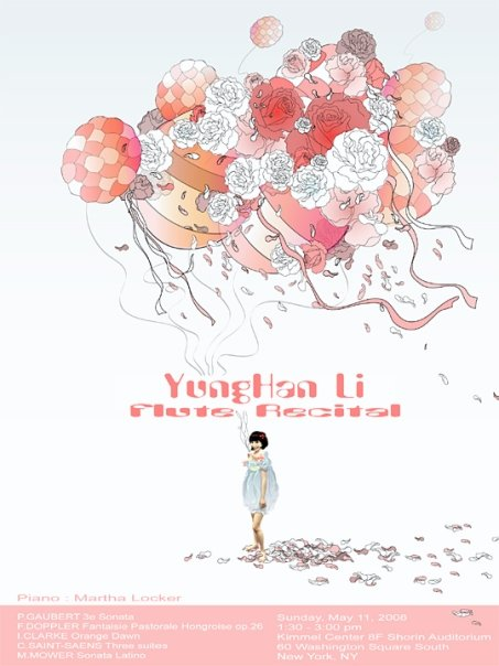 2008 YungHan Li Flute Recital