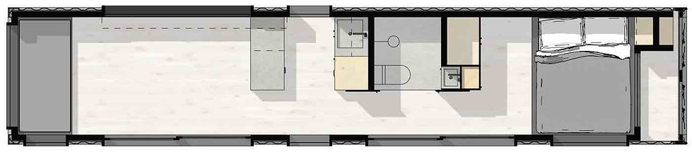 Containerly floor plan