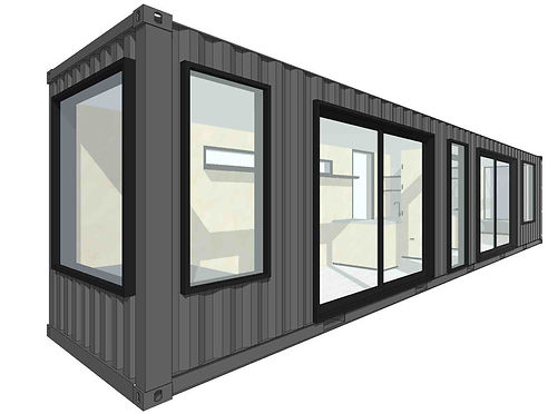 Containerly 3D elevation